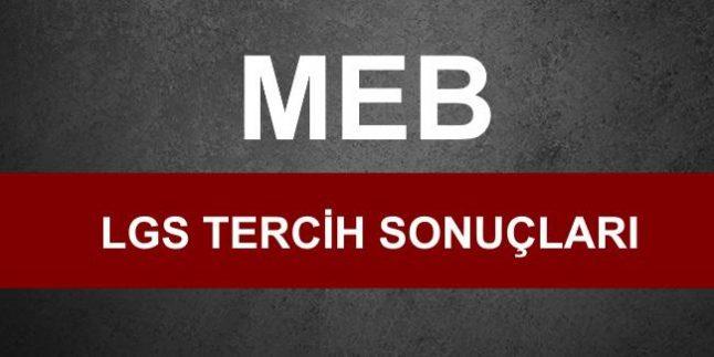 MEB, Liselere Yerleştirme Sonuçlarını Açıkladı