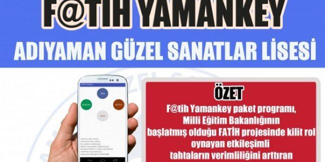 Fatih Yamankey – Etkileşimli Tahta Güvenlik ve Kilit Programı