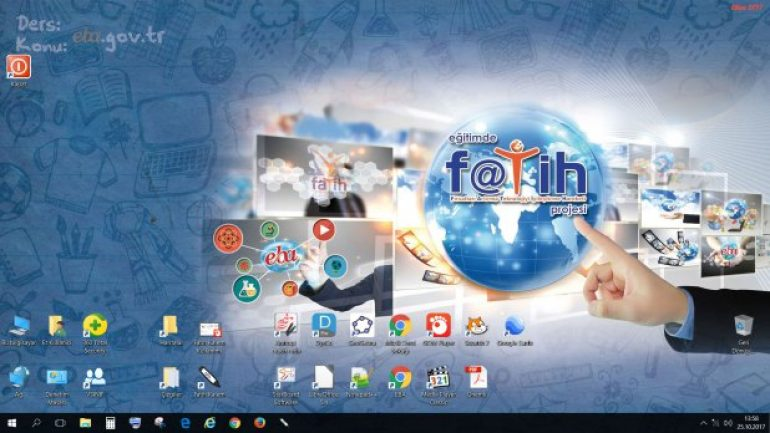 Faz-2 Etkileşimli Tahta İntel-AMD Windows 8.1 ve Windows 10 İmajları