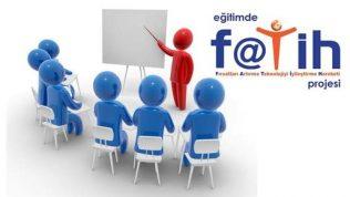 Fatih Projesi Bilişim Teknolojileri Rehber Öğretmeni 2018-2019 Eğitim-Öğretim Yılı 1. Dönem Çalışma Planı
