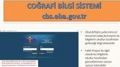 Fatih Projesi Coğrafi Bilgi Sistemi (CBS) Web Uygulaması Kılavuzları