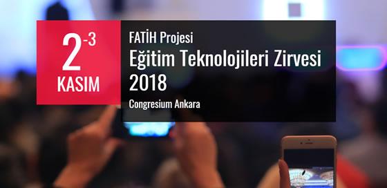 Photo of FATİH Projesi Eğitim Teknolojileri Zirvesi 2018