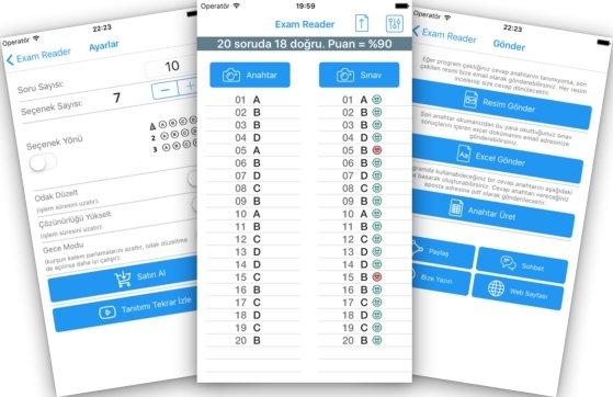 Photo of Exam Reader – Mobil Cihazlar İçin Optik Çoktan Seçmeli Sınav Okuma/Okutma Programı