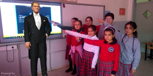 Artırılmış Gerçeklik ile 10 Kasım Atatürk'ü Anma Etkinliği