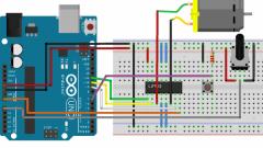 Arduino ile DC Motor Hız ve Yön Kontrolü