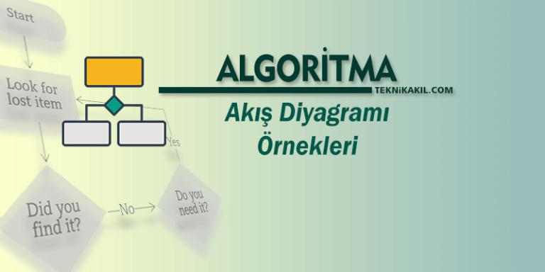 Photo of Algoritma ve Akış Diyagramı Örnekleri