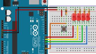 Arduino ile Buton ve LED Uygulaması