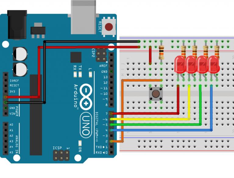 Photo of Arduino ile Buton ve LED Uygulaması
