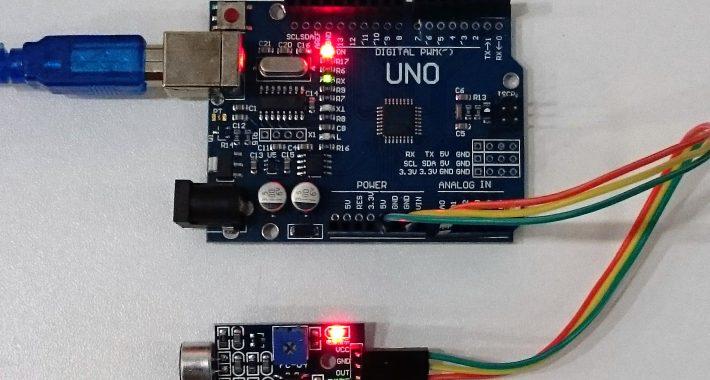 Arduino İle Ses Sensör Modülü