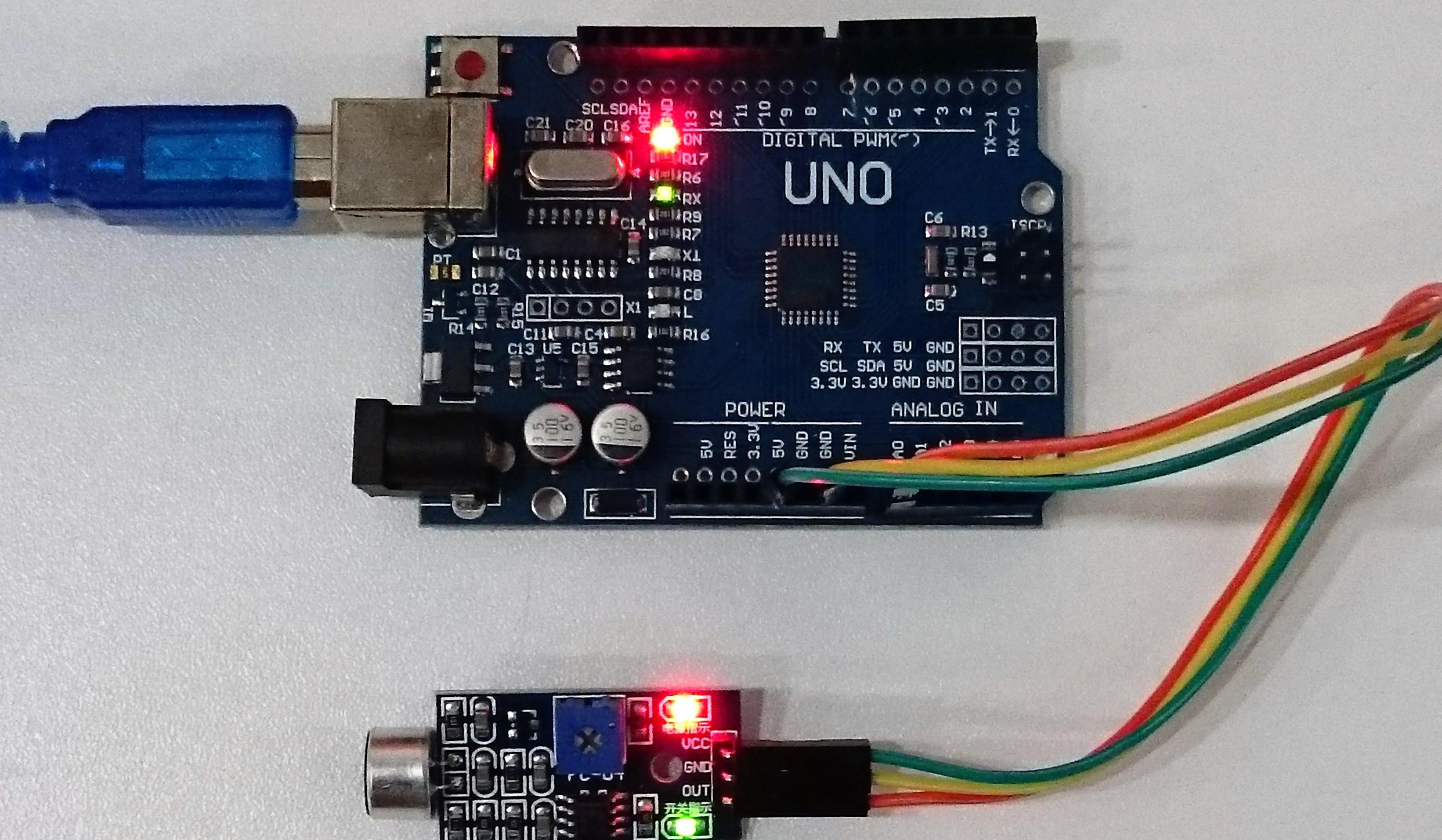Photo of Arduino İle Ses Sensör Modülü