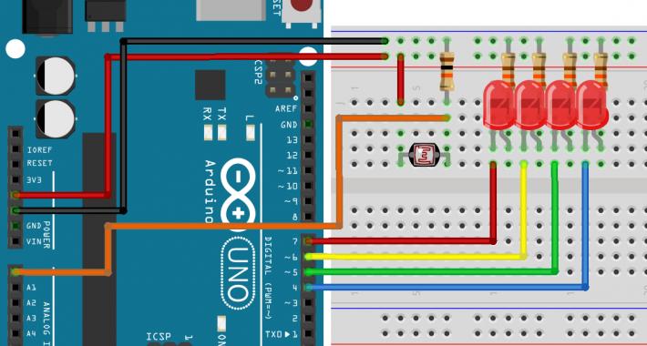 Arduino ile Işık Seviye Ölçümü