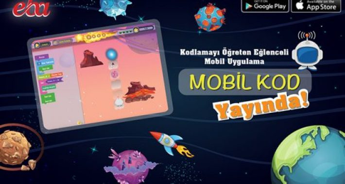 """""""Mobil Kod"""" uygulaması EBA'da yayında…"""