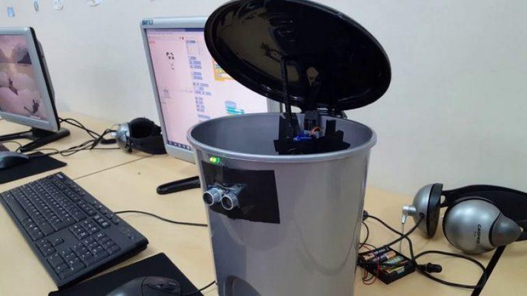 Arduino İle Akıllı Çöp Kutusu