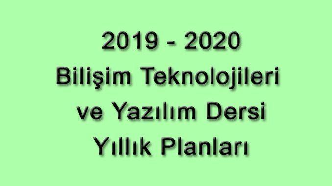 Photo of 2019-2020 Eğitim Öğretim Yılı Bilişim Teknolojileri ve Yazılım Dersi 5. ve 6. Sınıf Yıllık Planları
