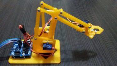 Arduino İle Robot Kol