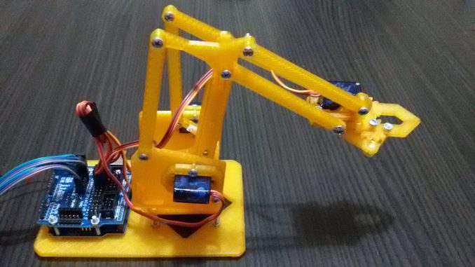 Photo of Arduino İle Robot Kol