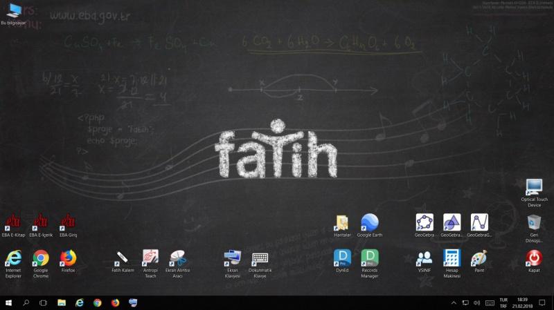 Photo of Fatih Projesi Faz-1/Faz-2 Etkileşimli Tahta Windows 10 İmajı