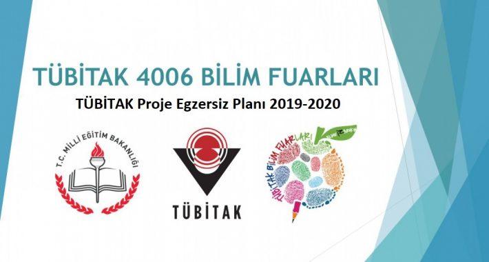 TÜBİTAK Proje Egzersiz Planı 2019-2020