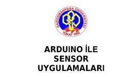 Arduino İle Sensör Uygulamaları (53 Sayfa)