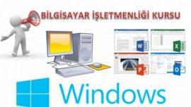 Halk Eğitimi Merkezi Bilgisayar İşletmenliği (Operatörlüğü) Kursu Dosyaları
