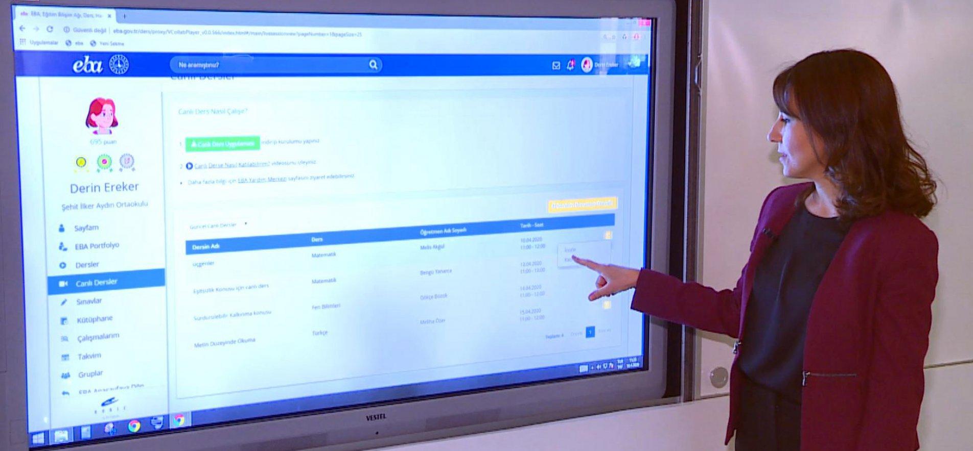 Photo of EBA Canlı Sınıf Uygulamasına İlişkin Teknik Detaylar