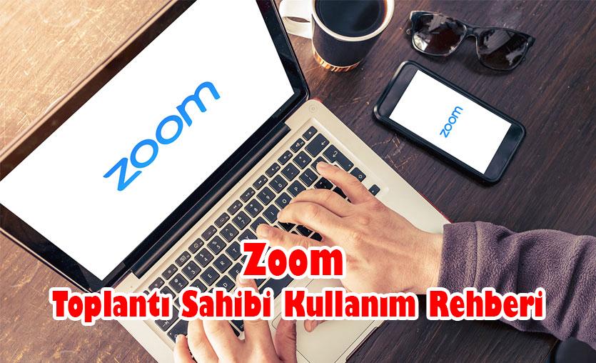 Photo of Zoom Toplantı Sahibi Kullanım Rehberi