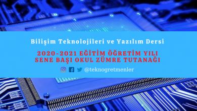 Photo of Bilişim Teknolojileri ve Yazılım Dersi 2020-2021 Eğitim Öğretim Yılı Sene Başı Okul Zümre Tutanağı
