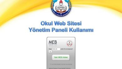 Photo of Okul Web Sayfası Yönetim Paneli Kullanım Klavuzu