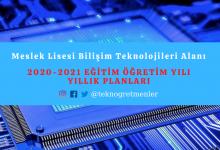 Photo of 2020-2021 Eğitim Öğretim Yılı Meslek Lisesi Bilişim Teknolojileri Alanı Yıllık Planları