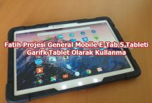 Photo of Fatih Projesi E-Tab 5 Tableti Grafik Tablet Olarak Kullanma