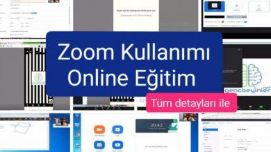 """Photo of Baştan Sona """"Zoom"""" Kullanımı Eğitimi (29dk)"""
