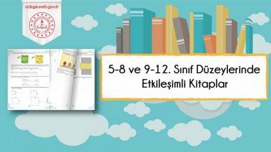 Photo of 5-8. ve 9-12. Sınıf Düzeylerinde Etkileşimli Kitaplar Yayımlandı