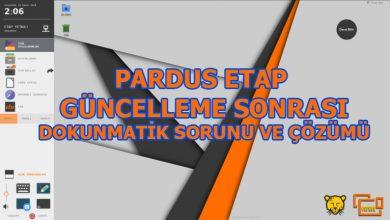 Photo of Pardus ETAP Tahtalarda Güncelleme Sonrası Dokunmatik Sorunu ve Çözümü