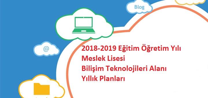 Photo of 2018-2019 Eğitim Öğretim Yılı Meslek Lisesi Bilişim Teknolojileri Alanı Yıllık Planları