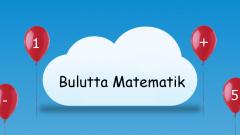 Eğitsel Oyun – Bulutta Matematik