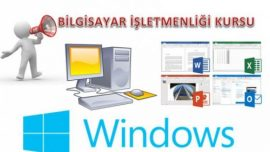 Bilgisayar İşletmenliği ( Opretaörlüğü ) Kursu Materyalleri