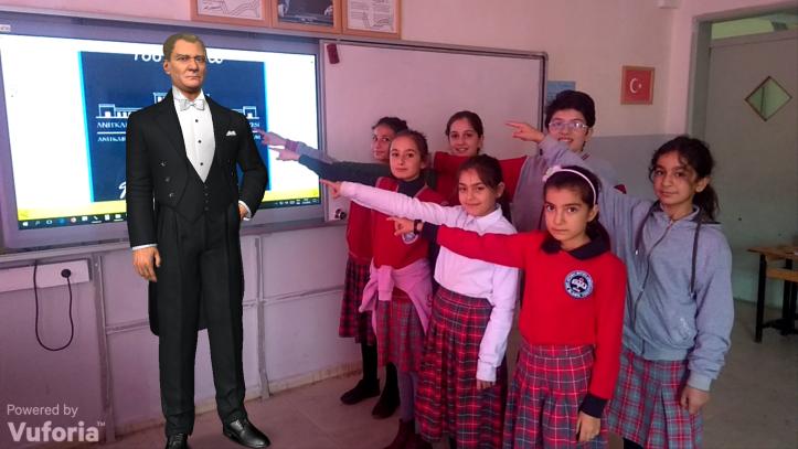 Photo of Artırılmış Gerçeklik ile 10 Kasım Atatürk'ü Anma Etkinliği