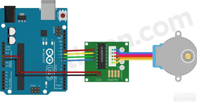 Photo of Arduino ile Step Motor Kontrolü