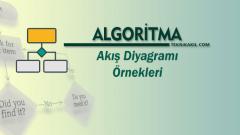 Algoritma ve Akış Diyagramı Örnekleri