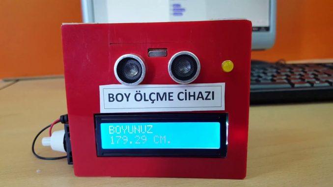 Photo of Arduino İle Boy Ölçer