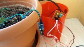 Arduino İle Otomatik Çiçek Sulama Sistemi
