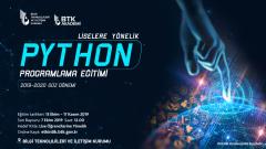 BTK Akademi Lise Öğrencilerine Yönelik Python Programlama Eğitimi