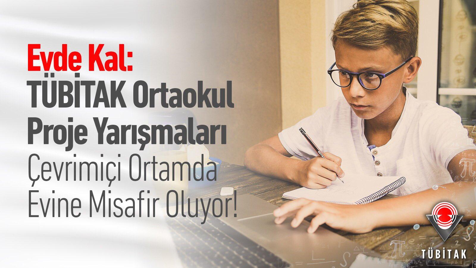 Photo of TÜBİTAK Ortaokul Proje Yarışmaları Bölge Sergisi değerlendirmeleri çevrimiçi olacak!