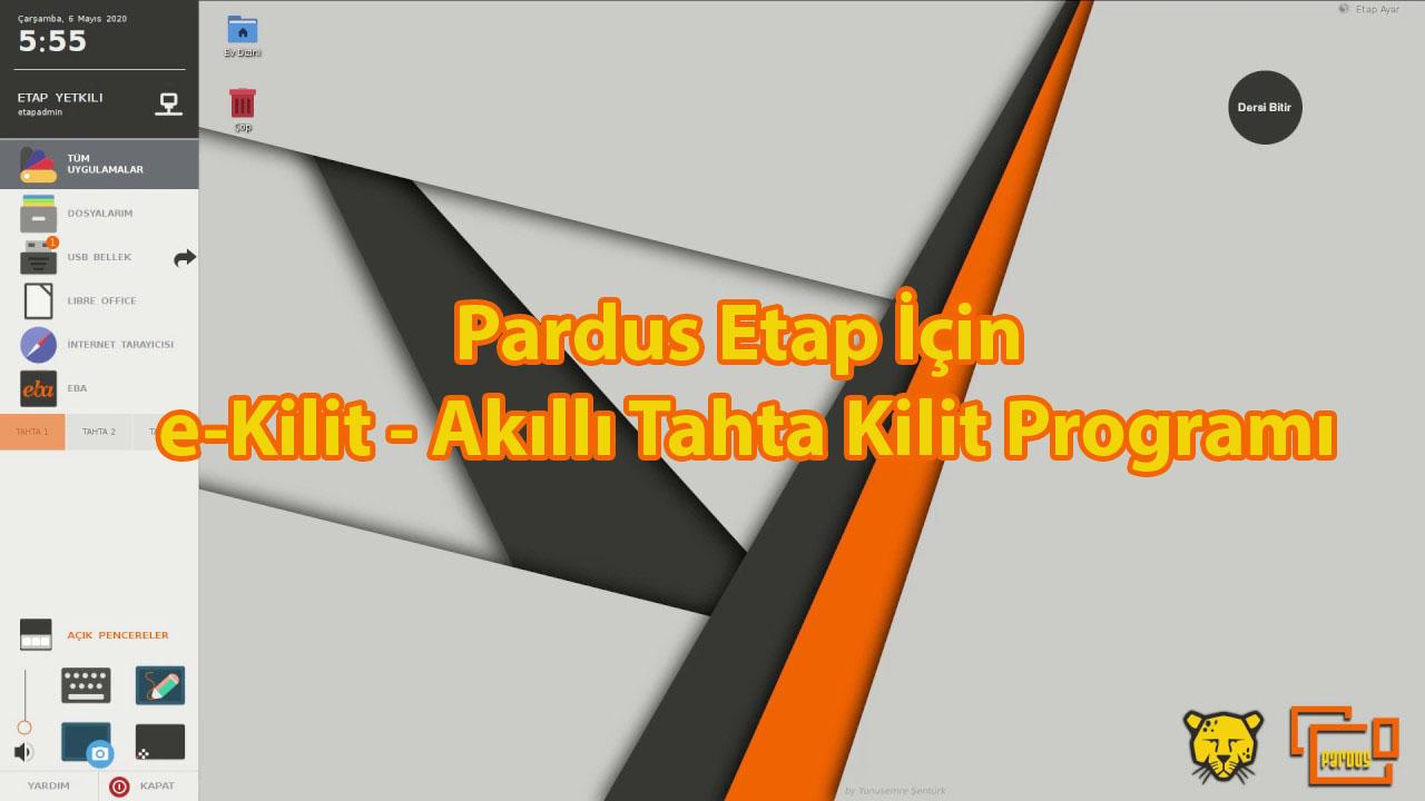 Photo of Pardus Etap için e-Kilit – Akıllı Tahta Kilit Programı
