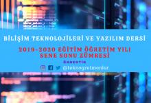 Photo of Bilişim Teknolojileri ve Yazılım Dersi Sene Sonu Okul Zümresi