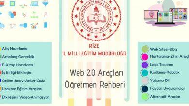 Photo of Web 2.0 Araçları Öğretmen Rehberi
