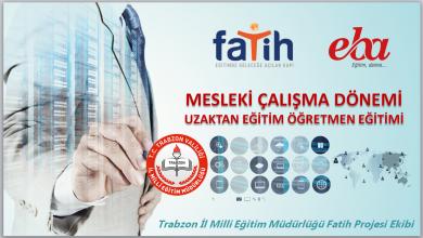 Photo of Trabzon İl MEM Fatih Projesi Ekibi Tarafından Hazırlanan Uzaktan Eğitim, Uzaktan Eğitimde EBA TV, EBA Canlı Ders ve EBA Portalı Kullanımı Sunumu