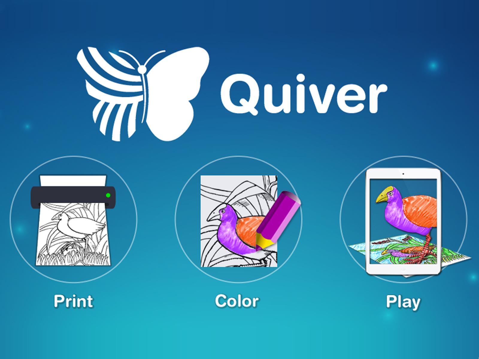 Quiver Artırılmış Gerçeklik Uygulaması ile Canlanan Resim Örnekleri